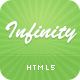 Infinity - HTML5 Business Template - ThemeForest Item for Sale