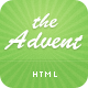 The Advent - Clean and Modern Business Template  - ThemeForest Item for Sale