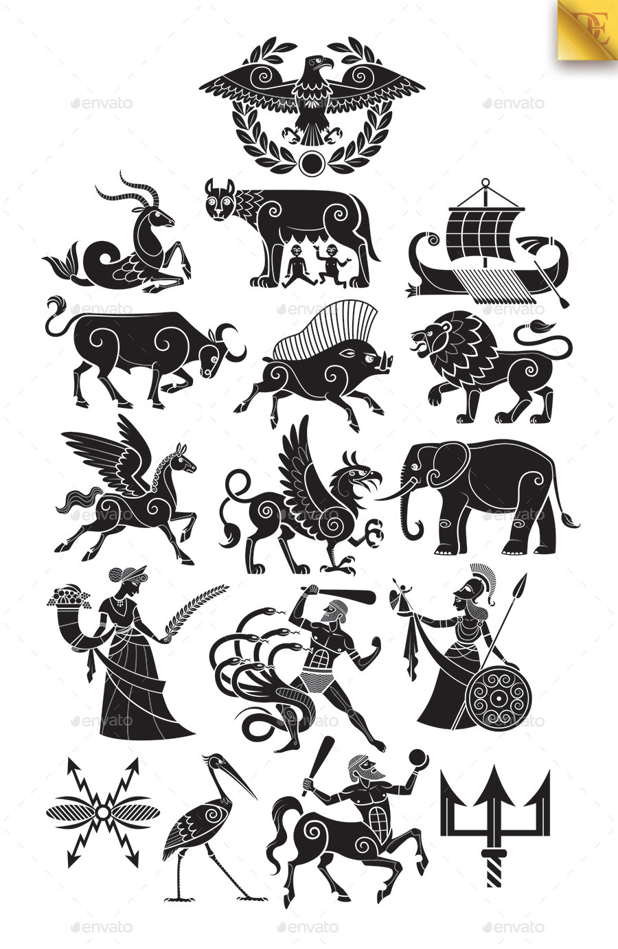 Ancient Roman Symbols And Meanings Animalcarecollegefo