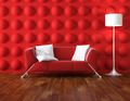 red and white modern interior - PhotoDune Item for Sale