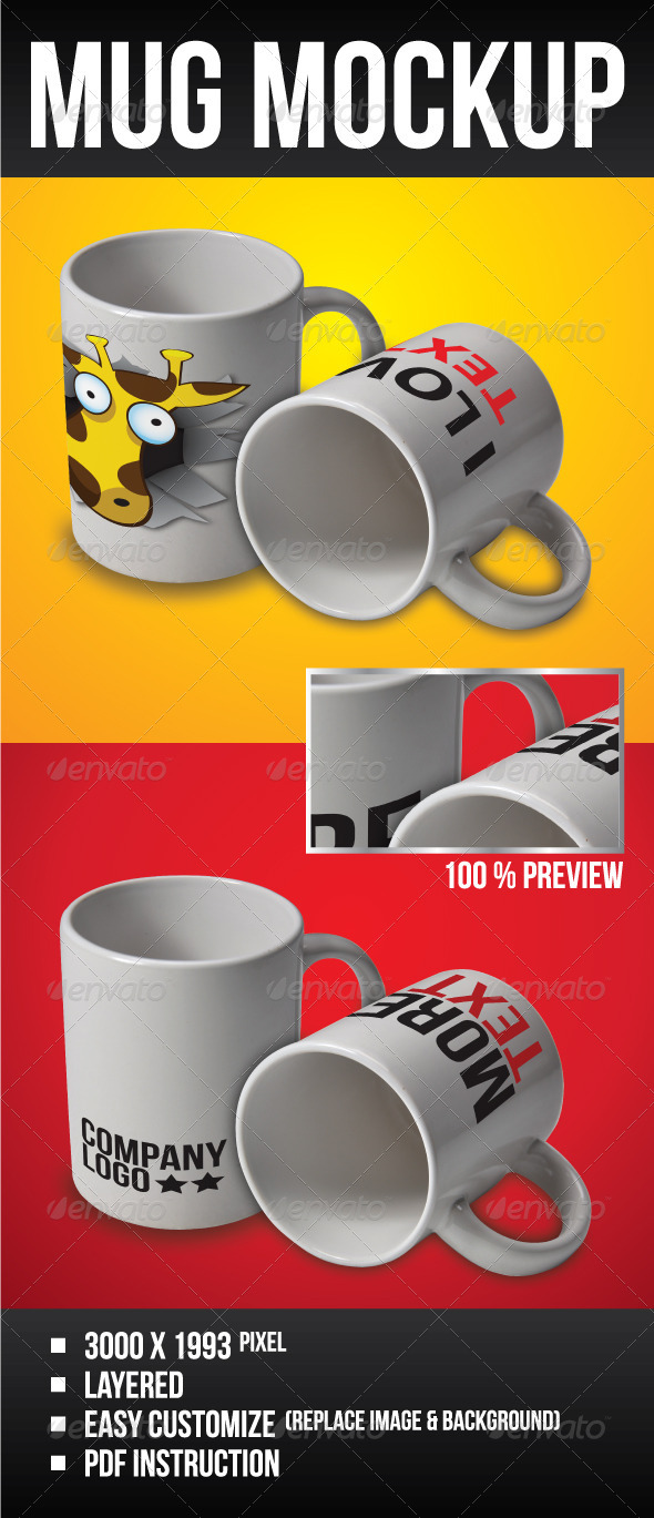 GraphicRiver MUG Mock-Up 1162463