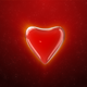 Heart 01 On A Red Background Valentine's - VideoHive Item for Sale