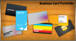 Business Cards Portofolio