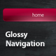 6 Glossy Styled Navigations - GraphicRiver Item for Sale