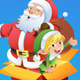 Santa and Elf - GraphicRiver Item for Sale