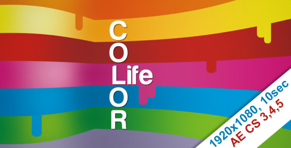 After Effects Project - VideoHive Color life 1175588