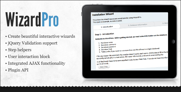 Wizard Pro - CodeCanyon Item for Sale