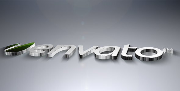 After Effects Project - VideoHive 3D Metal Logo Revealer 144066