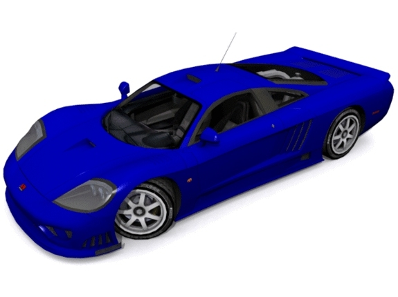 3DOcean Saleen S7 Twin Turbo 1181353