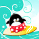 Surfing Penguin - GraphicRiver Item for Sale