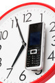 phone and clock - PhotoDune Item for Sale