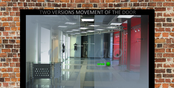 After Effects Project - VideoHive Glass door 1126088