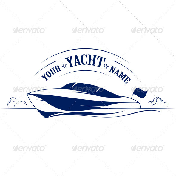 GraphicRiver Speed Boat Yacht Icon 1183161