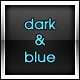 Dark &amp;amp; Blue Portfolio Template - ThemeForest Item for Sale