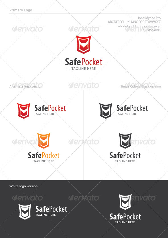 SafePocket - Symbols Logo Templates