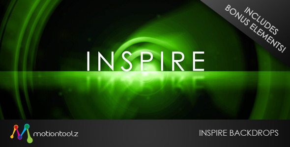 After Effects Project - VideoHive INSPIRE Backdrops 1191599
