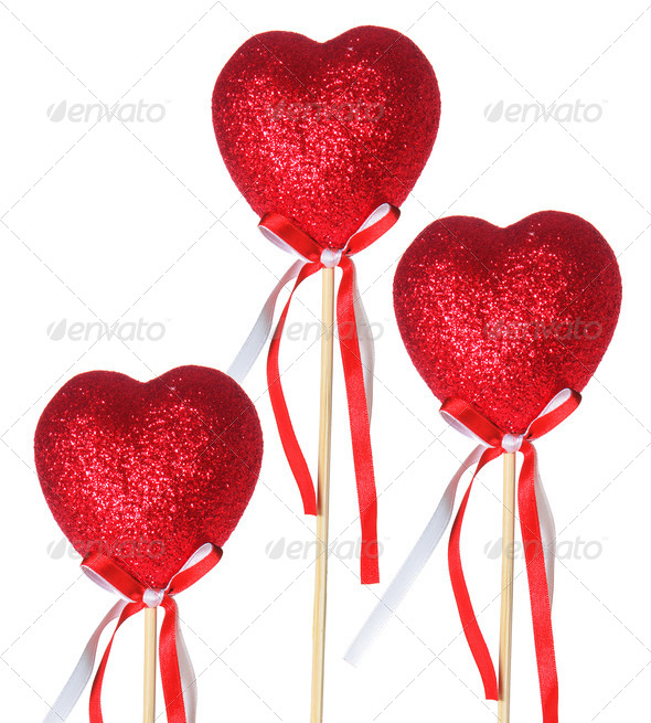 Love Heart Decorations - Stock Photo - Images