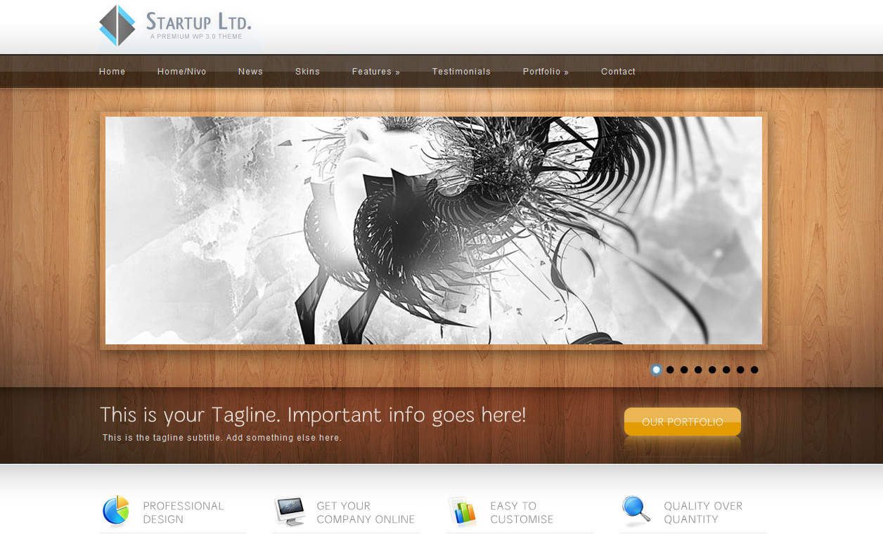 Entrepeneur - WP Business Theme