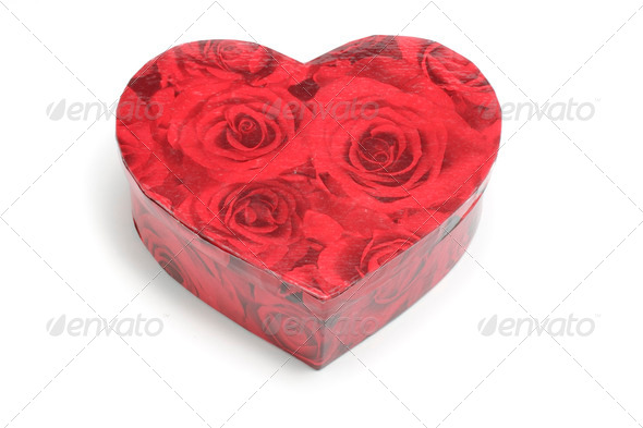 Heart Shape Box - Stock Photo - Images