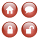 Glass/Bubble Vector Icons - ActiveDen Item for Sale