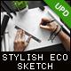 Stylish and Organic Sketch -Graphicriver中文最全的素材分享平台