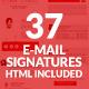 37 Email Signature-Graphicriver中文最全的素材分享平台