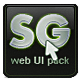 SilverGlance UI-Graphicriver中文最全的素材分享平台