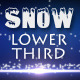 Snow Lower Third 1 - VideoHive Item for Sale