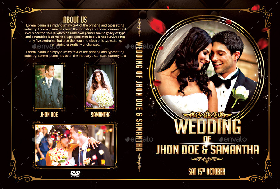 Wedding Dvd Cover Template Free Download - jdmediazone7