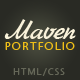 Maven - Portfolio - ThemeForest Item for Sale