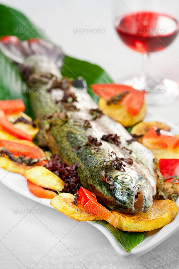 Rainbow trout - Stock Photo - Images