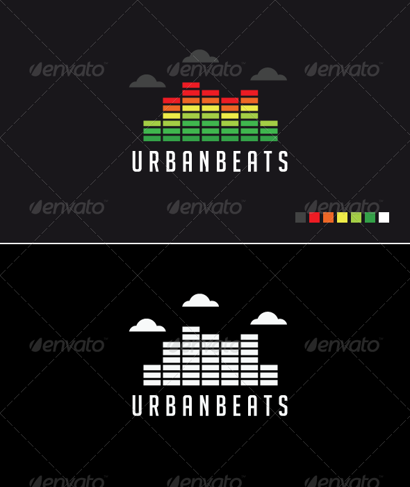 Urban Beats - Logo Template - Buildings Logo Templates