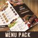 Food Menu Pack-Graphicriver中文最全的素材分享平台