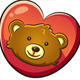 Valentine Cute Bear - GraphicRiver Item for Sale