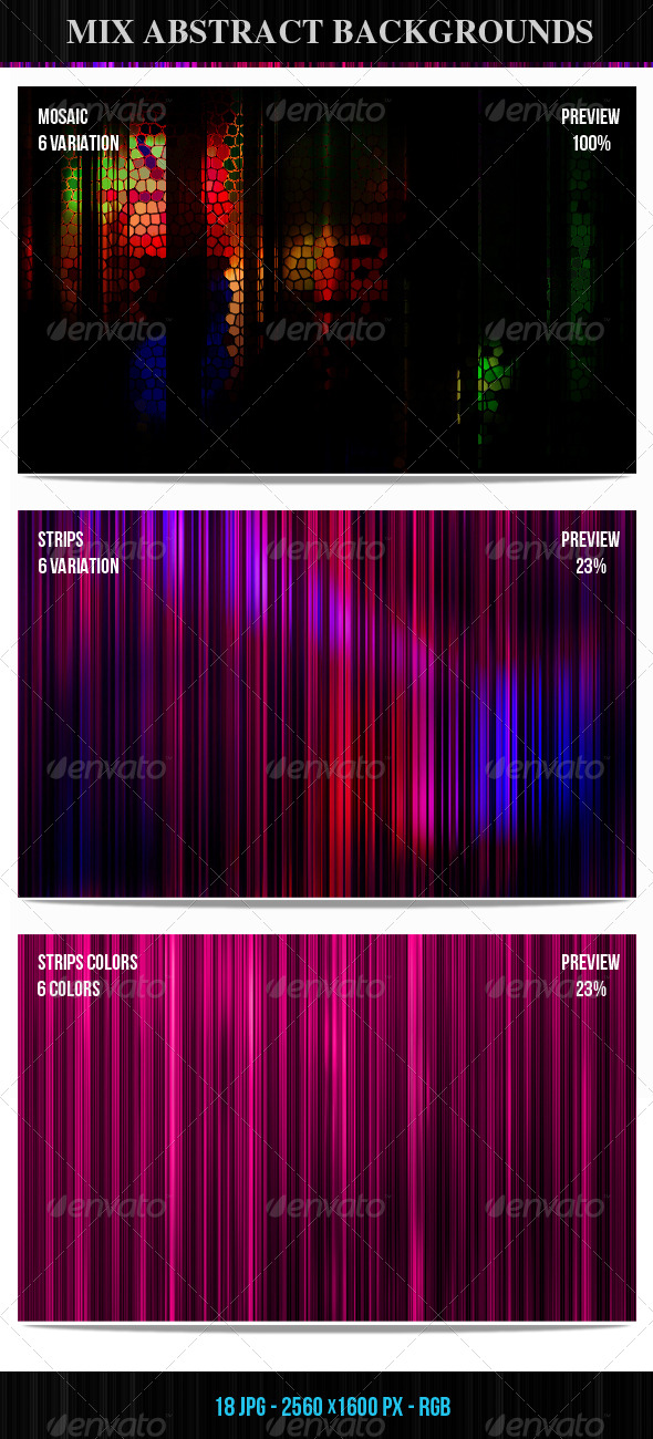 GraphicRiver Mix Abstract Backgrounds 147222