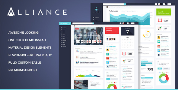 Alliance intranet extranet wordpress theme by themerex for Company intranet template