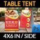Restaurant and Cafe Table T-Graphicriver中文最全的素材分享平台