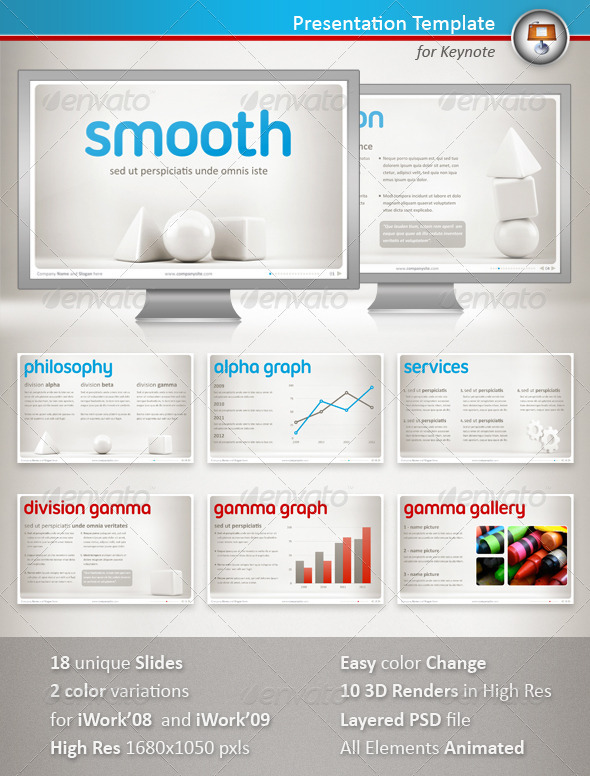 GraphicRiver Smooth Keynote Presentation 1213391