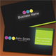 Simple Vibrant Neon Business Card - GraphicRiver Item for Sale