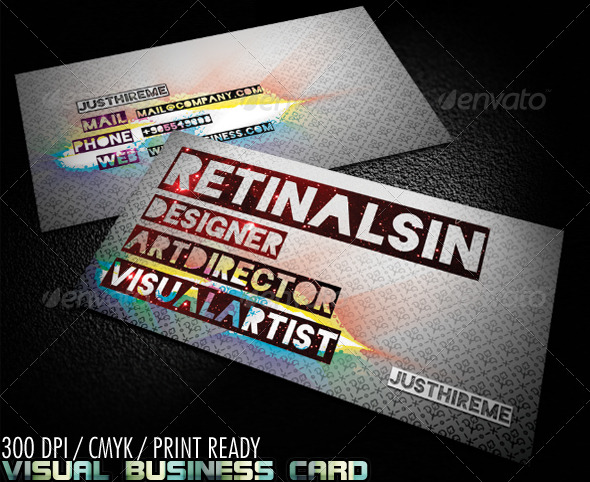 GraphicRiver Visual Business Card 147868