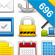 320 Vivid Web Icons - GraphicRiver Item for Sale