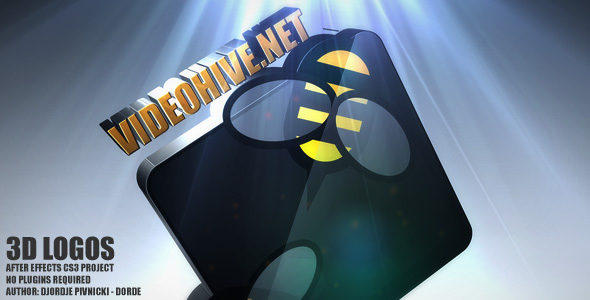 After Effects Project - VideoHive 3D logos 148218