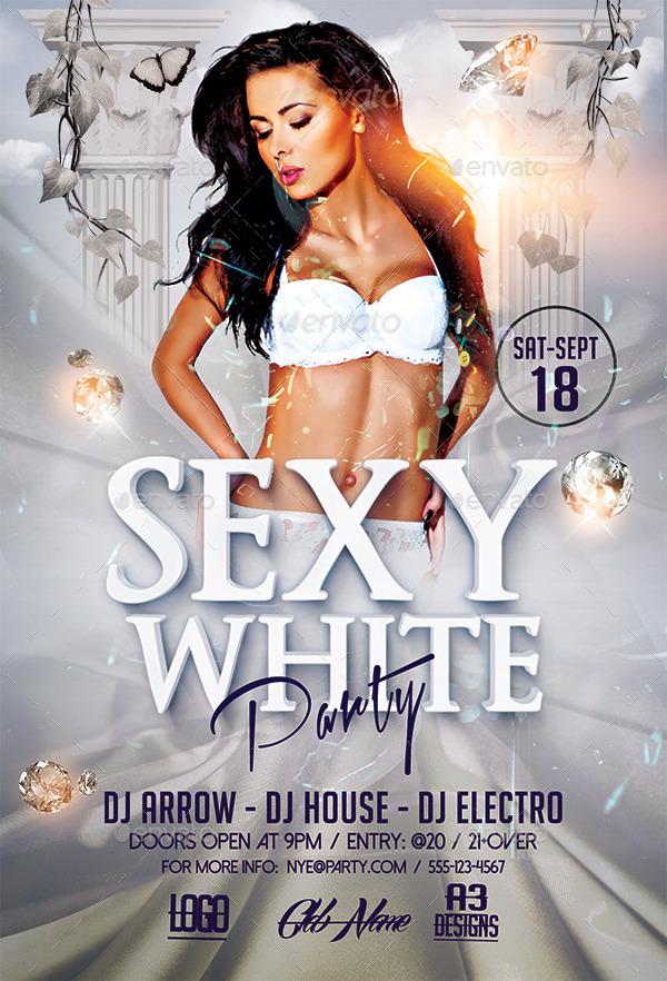 GraphicRiver - Sexy White Party 12170820