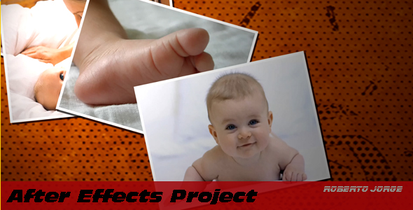 [VideoHive 148349] Throwing Photos | After Effects Project