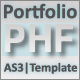 AS3 XML Portfolio Template - ActiveDen Item for Sale