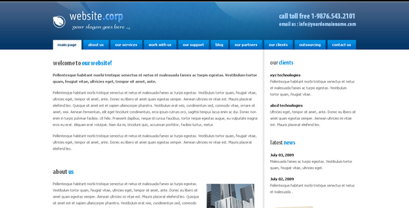 ThemeForest Website Corp 48378