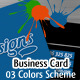 We Draw designs - Business Card - GraphicRiver Item for Sale