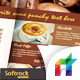 Cafe Menu Indesign Template-Graphicriver中文最全的素材分享平台
