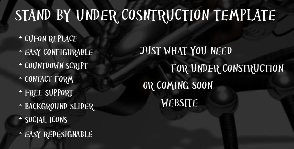 Standby - Under Construction & Coming Soon