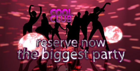 After Effects Project - VideoHive Cool Club 149272